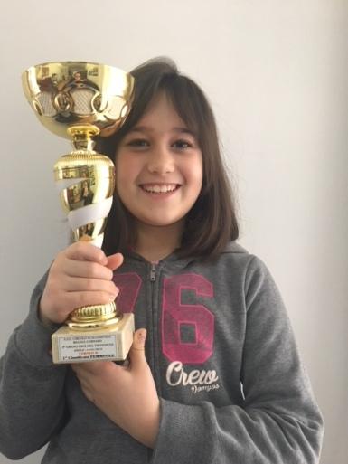 Matilde Caputo 1° femminile Torneo B
